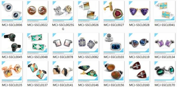 mens cufflinks Promotional cufflinks titanium laser engraved cufflinks coated