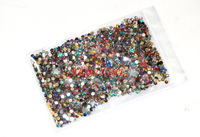 Стразы для ногтей 20 Colors 3mm colorful perfect 2000pcs/set High Quality Nail Rhinestone Diamond Very Shinny