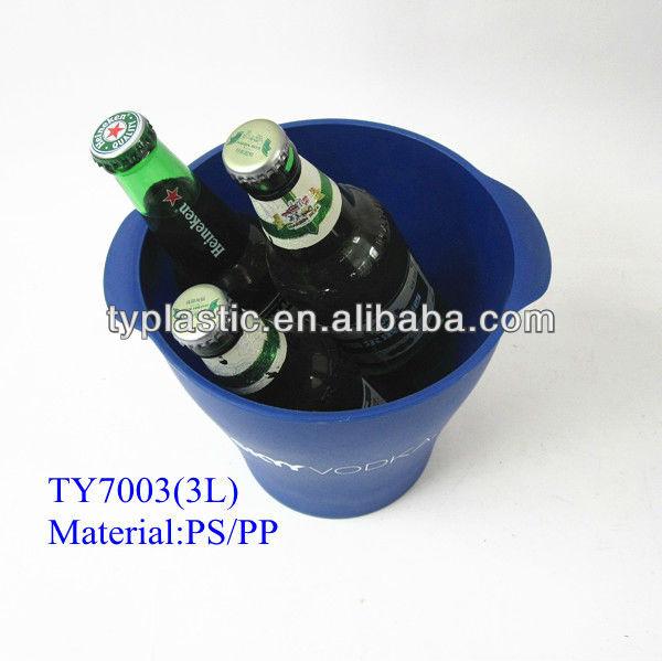 beer promotion ice bucket plastic