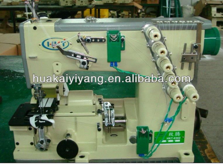 High Speed Nylon Zipper sewing machine with servo motor
