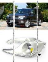 Дневные ходовые огни Best Price Car-specific TOYOTA Highlander 2012 led drl, China Sunight daytime running light