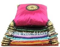 Диванная подушка lot 10 Pairs 20pcs Pillow Cushion Cover Sunflower Brocade Throw Couch Sofa H804