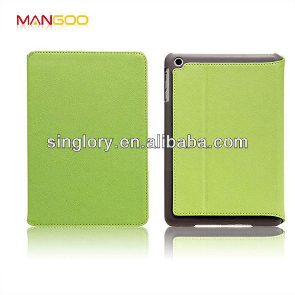 2013 PU book leather case for ipad mini