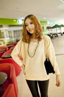 Корея женские длинные жемчужные вязать кардиган лаковое прекрасный свитер 2color