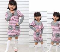 Платье для девочек 5set/lot