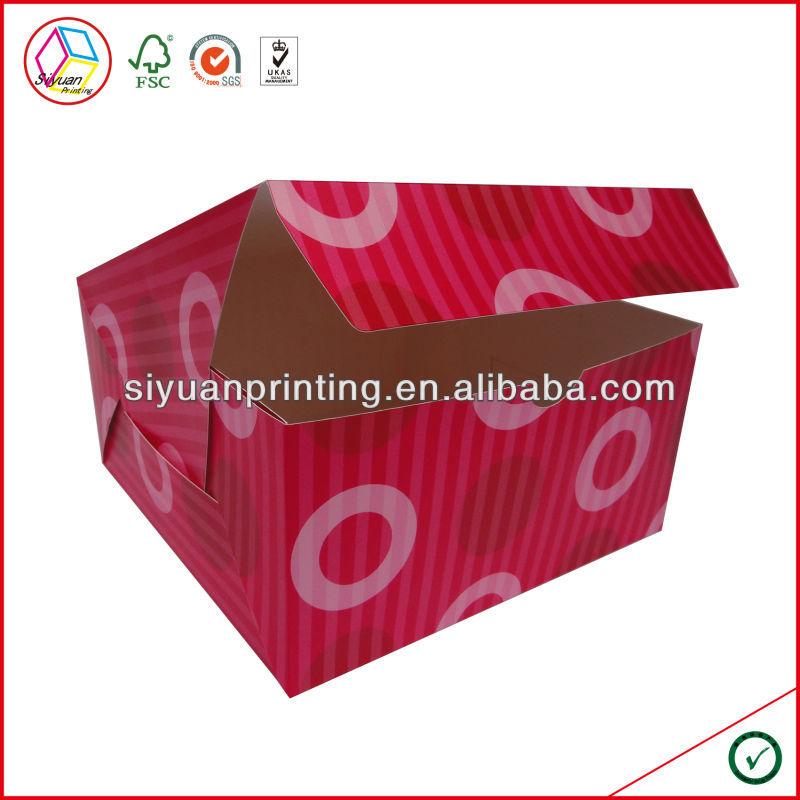 High Quality Cupcake Box