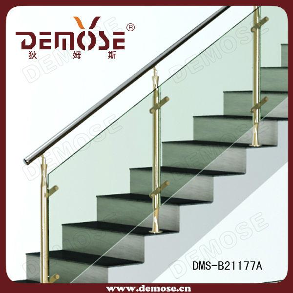 Porche/terraza/escalera/balcón barandas de vidrio/pasamanos ...