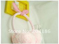 Меховые наушники Flower rabbite ,  10pcs/lot 1019