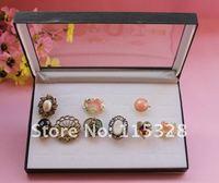 Free Shipping,Wholesale 2pcs/lot White Jewelry Rings Display Show Case Organizer Tray Box 36 Slots Bar-6