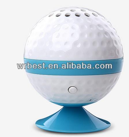 Fashion sucker bluetooth speaker ,handsfree ball suction cup speaker