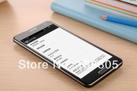лучшее качество telsda n9000 5.5 «hd экран android 4.2 mtk6572 двухъядерный Примечание 3 телефона Русский
