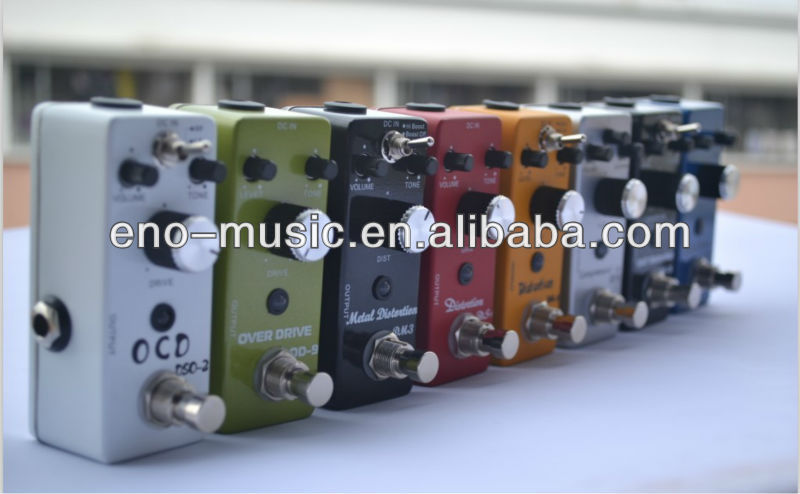 ENO EX MINI EFFECT PEDAL SERIES TURE BYPASS