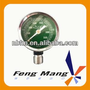 6 Mpa Conventional Bourdon Tube Pressure Gauge