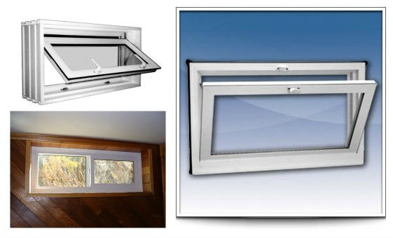 Pvc small windows for basement windows buy small windows for Petite fenetre pvc