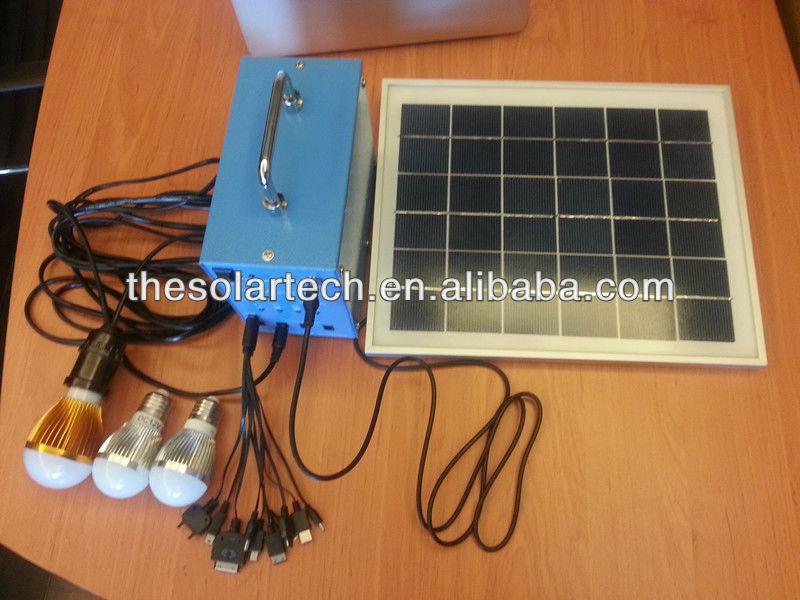 80w DC portable solar home system supplier