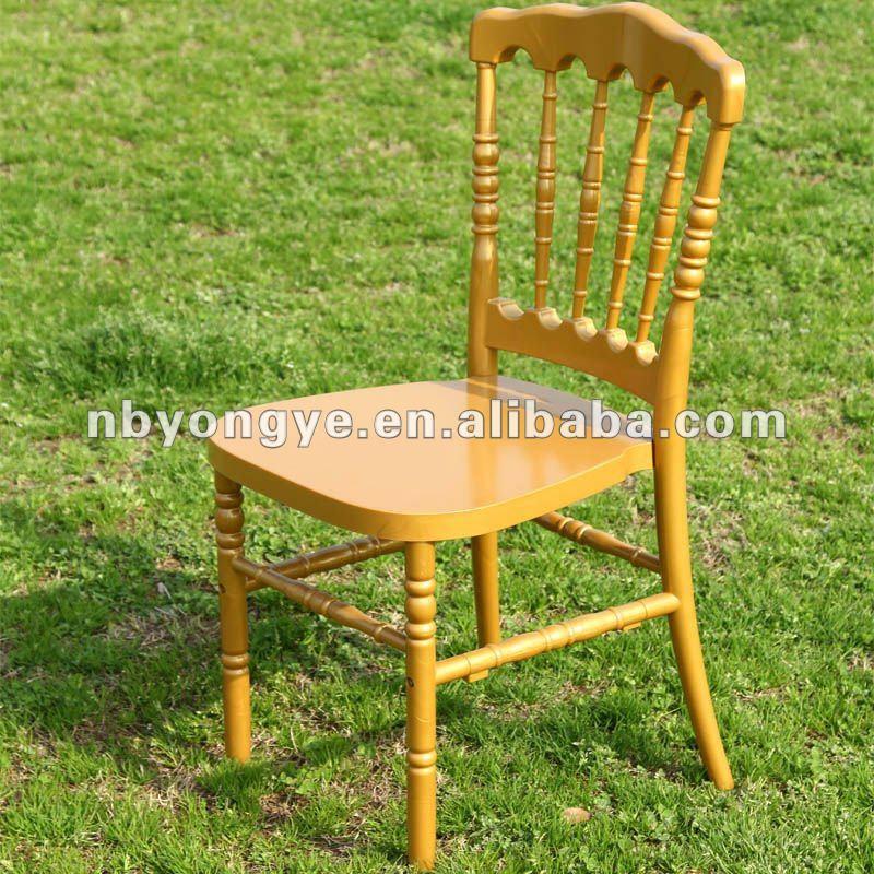 Горячая распродажа ясно смолы наполеон стул на свадьбу