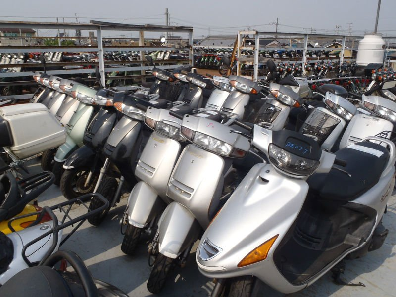 Japanese Used SCOOTERS 50cc
