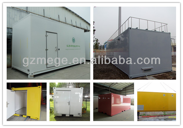 Customized equipment container