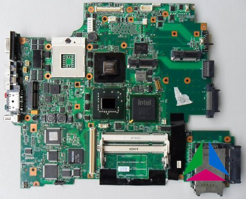 for ibm laptop T61 motherboard  NVIDIA  14.1' standard SCREEN