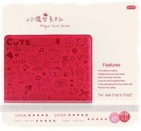Чехол для планшета Magnetic Smart Cover PU Leather Case/ Magic Stand for new ipad for iPad 2 Wake Up Sleep