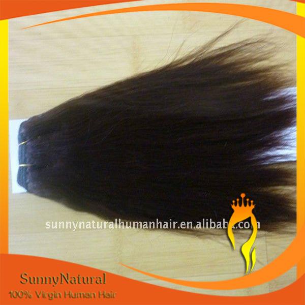 Coarse Yaki Texture Virgin Peruvian hair