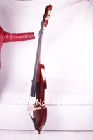 Скрипка 3/4 new Electric Upright Double Bass Finish silent SOlid wood Powerful Sound