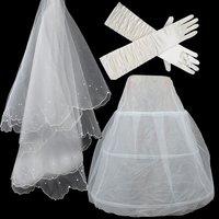 Свадебная фата Bridal Dress 3pcs suit