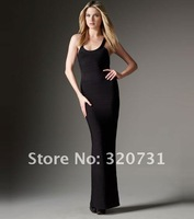 Women Fashion Brand Long Black Cocktail&Party Dresses/Ladies Sexy Slim Bandage Celebrity&Prom Dress H276