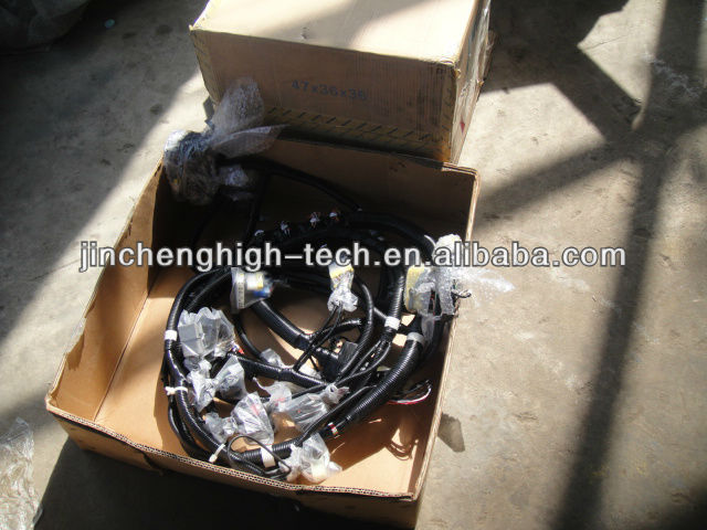 komatsu pc200-7 excavator internal cabine wire harness loom