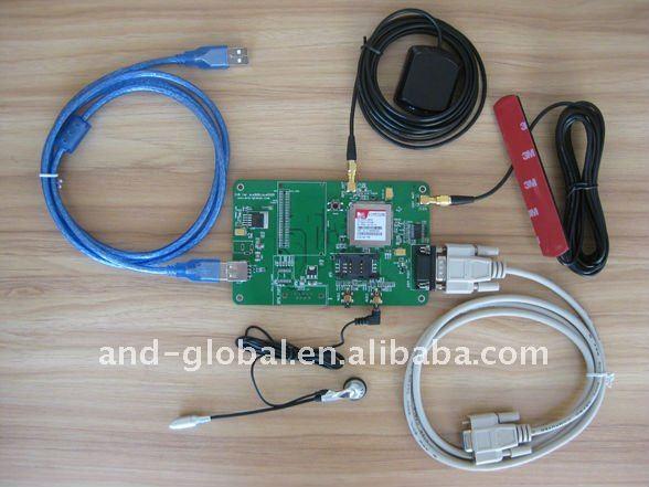 3G HSDPA SIM5320e module with GPS evaluation kit evaluation board
