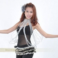 Женская одежда New belly dance dancing costume accessories long Large beads necklace