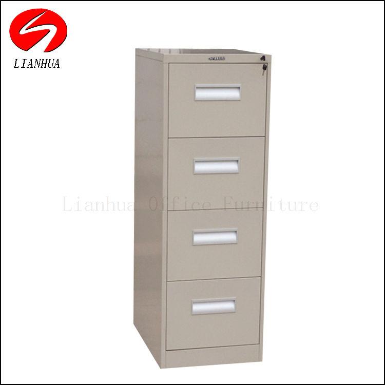 Vertical Steel Cabinet/4-Drawer File Cabinet/Steel 4-Drawer Cabinet