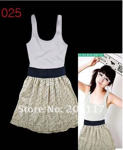 free shipping new women's fashion dress brand dress Wrapped chest skirt