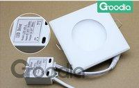 Светодиодная панель 6w led panel, AC85~265V, CE & ROHS, Cool white/Warm white, 6w led panel light with 60pcs 6014SMD