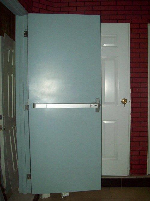 Residential Fire Doors : Fire proof vision panel doors hrs rated door