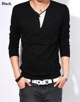 Мужская классическая рубашка Fashion Men blouse work shirt Business Men's slim fit dress shirts long sleeve cotton comfortble tops XS-XXXL US5