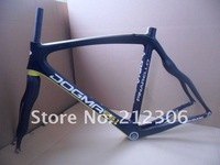 IN STOCK! 56CM 2013 Pinarello 65.1 aero carbon Road Bicycle Frame+fork+seatpost+headset +clamp