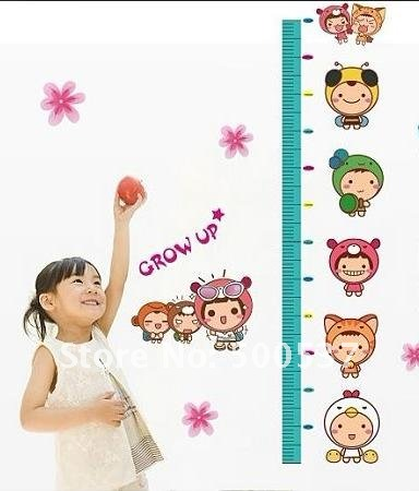 Free Shipping 3rd Generation XY8011 50*70cm DIY Wall sticker, Removable PVC  umbrella Decor Stickers,Kids best gift