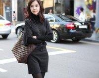 Женское платье L0236, batwing knittingdress
