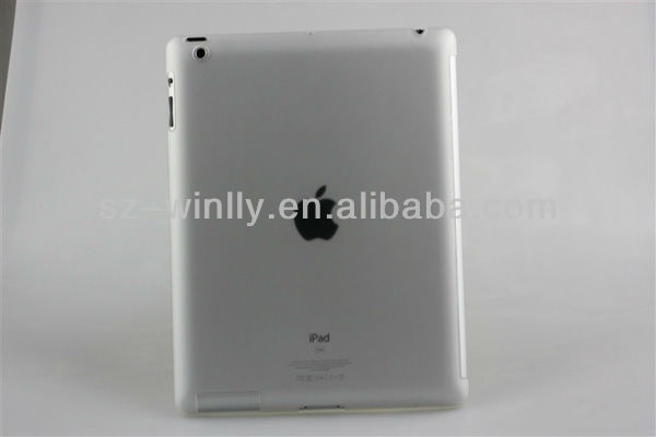 Hard wearing and durable tpu back cover case for ipad 2