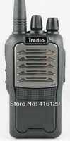 Рация irado 558 best 5W long range uhf 400-520MHz 2 two way portable radios with earpiece and heavy duty shoulder microphone
