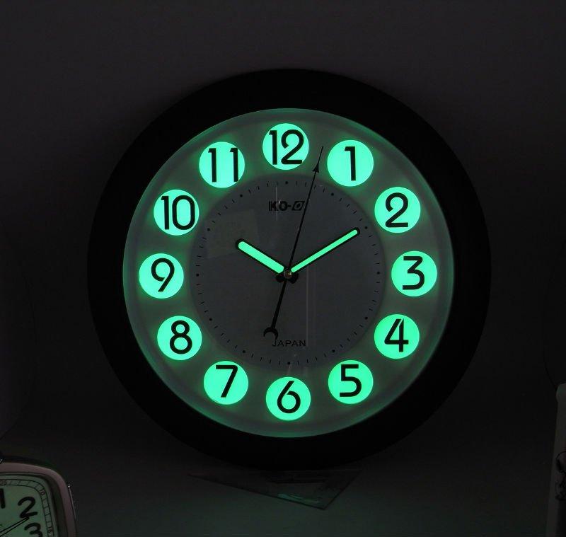 Luminous Wall Clock - Tc19049- - Buy Luminous Wall Clock,Glow In The Dark,Sweep Movement Product ...
