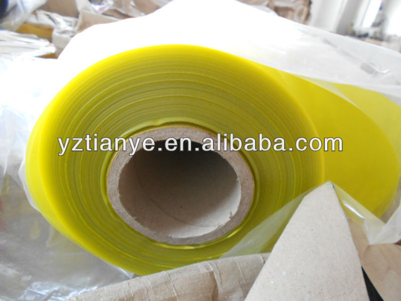 Super clear more thickness PVC plastic roll film/sheet