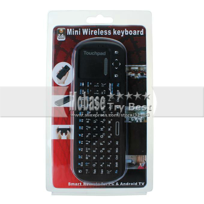 Russia Keyboard Air Mouse IPazzPort KP-810-19 160438 11