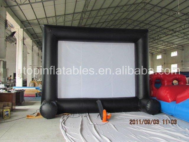 2013 venditore caldo commerciale schermo cinematografico gonfiabile/pubblicità gonfiabile