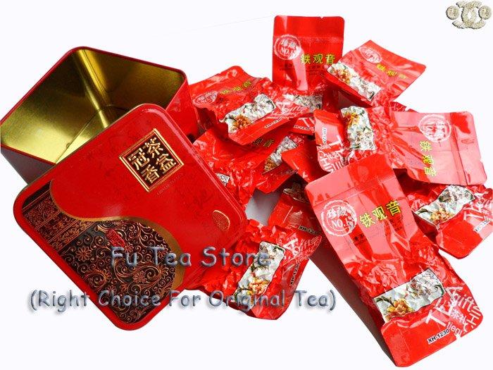 Oolong tea, tieguanyin tea 11PCS paking by beautiful box Free Shipping