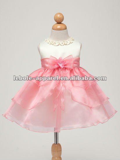Vestidos de color coral para niña - Imagui