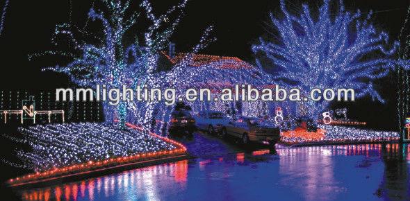 Outdoor LED Holiday Motif Light || New Year Celebration LED Motif Light