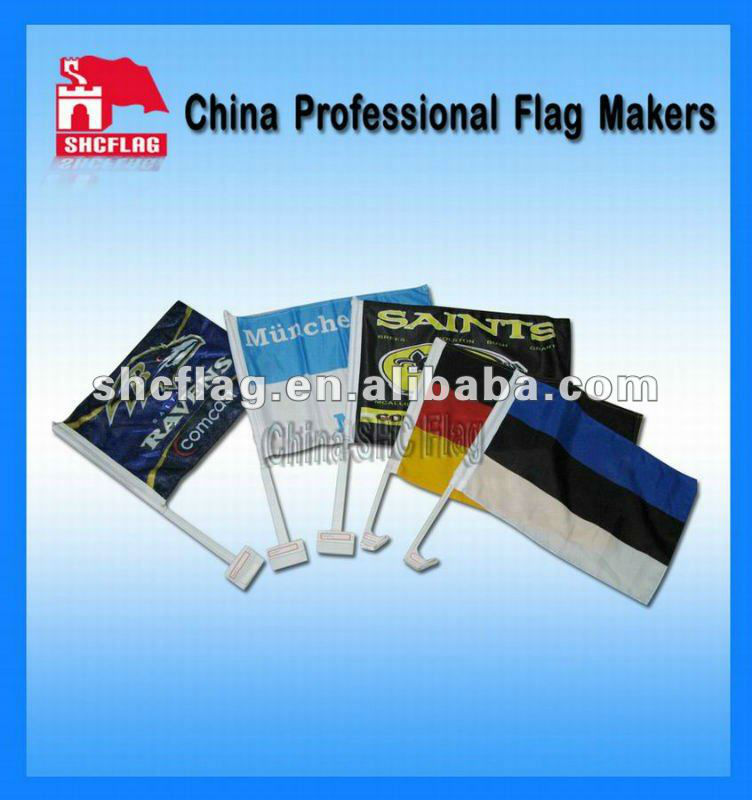 promotio<em></em>nal custom logo car flags with pole