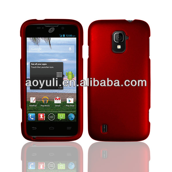 rubberized PC case for ZTE Majesty Z796C mobile phone, various color phone case for ZTE Z796C